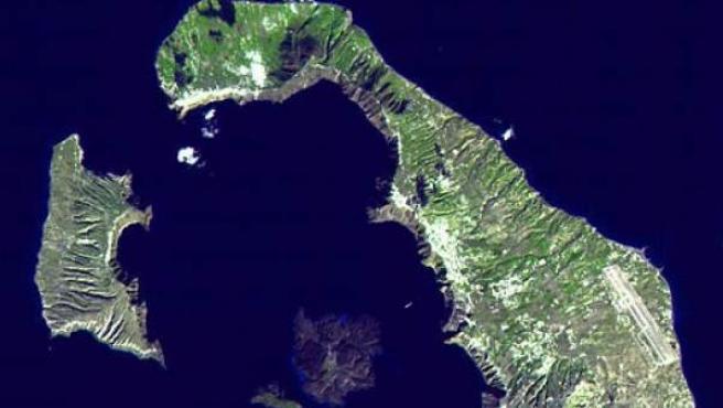 Islas de Santorini, en el mar Egeo.