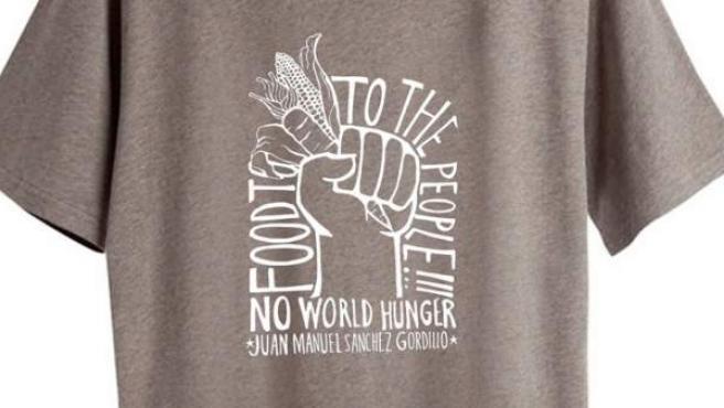 H&M puso a la venta esta camiseta bajo el título de 'Robin Hood de España'