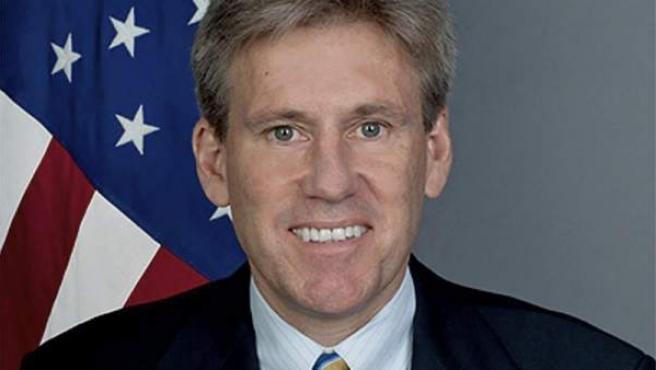 Imagen de archivo del Embajador de EE UU en Libia, Christopher Stevens, asesinado en el ataque contra el consulado de su país en Bengasi.