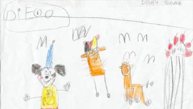 El deseo de Diego, un niño enfermo, era viajar a Disney World.