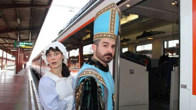 Tren Medieval a Siguenza de Renfe