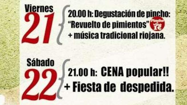 Actividades del centro social Miguel Hernández para San Mateo