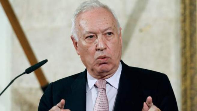 El Ministro de Asuntos Exteriores, José Manuel García Margallo.