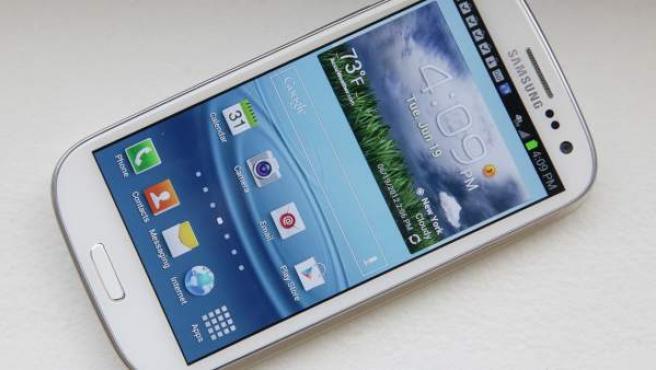 Samsung Galaxy S III, el último 'smartphone' de la compañía surcoreana.