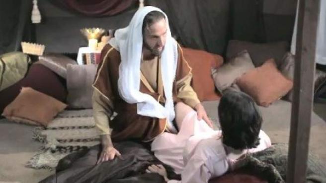 Una imagen del vídeo sobre Mahoma que ha incendiado al mundo islámico.