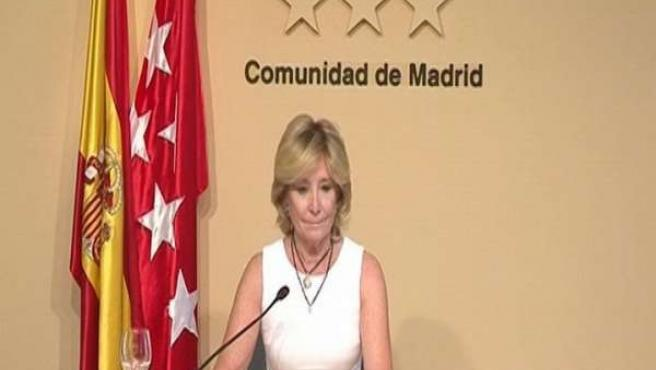 Aguirre presenta su carta de dimisión