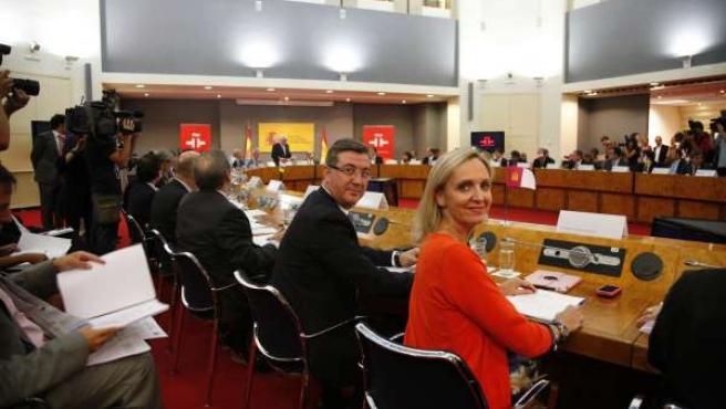Casero y Marín en el Consejo