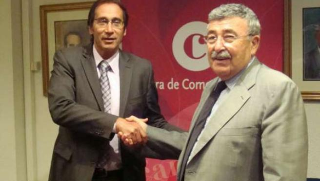 Josep Canalias y Joan Simó firman un acuerdo de acceso al crédito