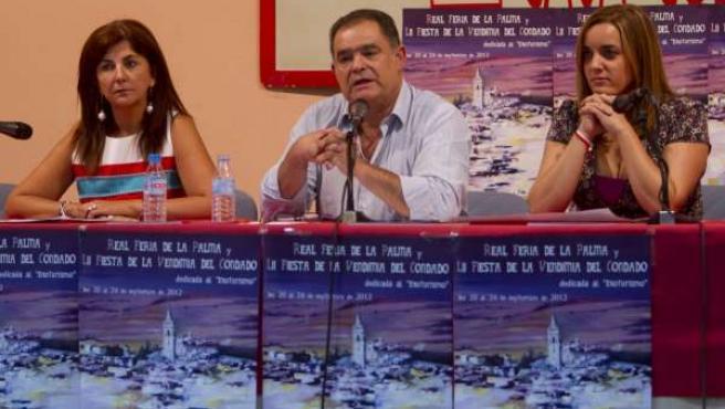 El Alcalde De La Palma Del Condado (Huelva), Juan Carlos Lagares (PP).