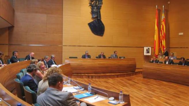 Pleno de la Diputación de Valencia, sesión ordinaria septiembre 2012