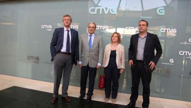 """CRTVG. Fotos """"Reunión Xefes De Campaña Na CRTVG"""""""