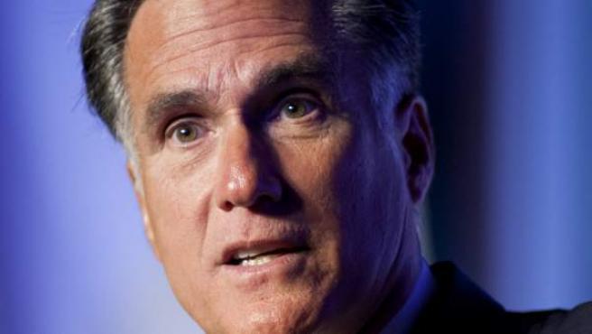 El candidato republicano, Mitt Romney.