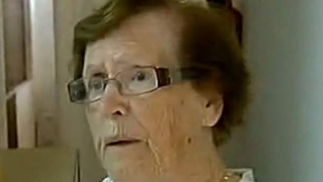 Cecilia Giménez, la anciana que 'restauró' el 'Ecce homo'.
