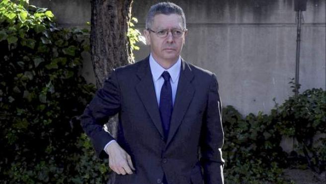 El ministro de Justicia Alberto Ruiz-Gallardón.
