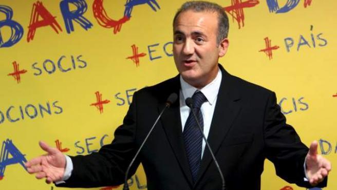 Alfons Godall, exvicepresidente del Barça.