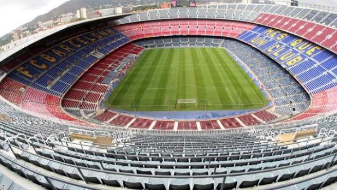 El estadio Camp Nou, en Barcelona, en una imagen de archivo.