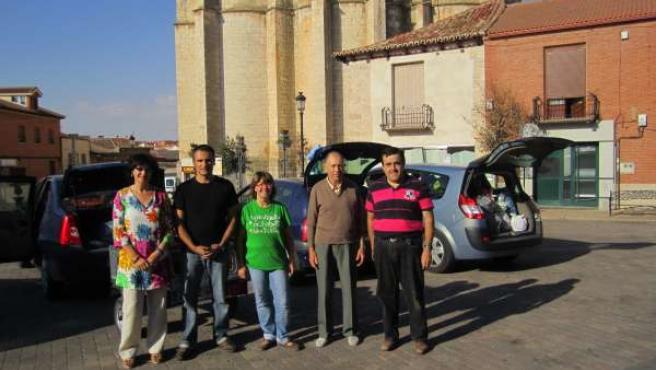 Entrega De Tapones Recogidos En El Ayuntamiento De Cigales