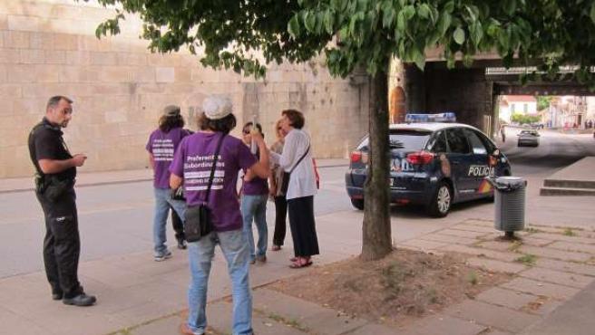 La policía identifica a manifestantes de las preferentes