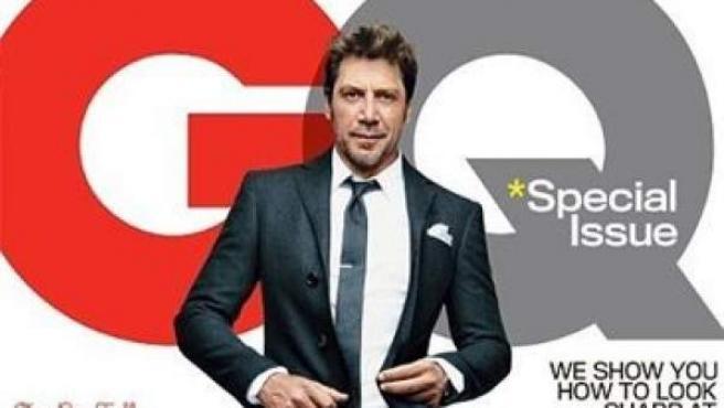 Javier Bardem protagoniza la portada de GQ del mes de octubre.
