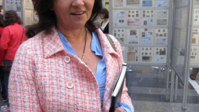 La Directora General De Política Lingüistica, Ana María Fueyo.