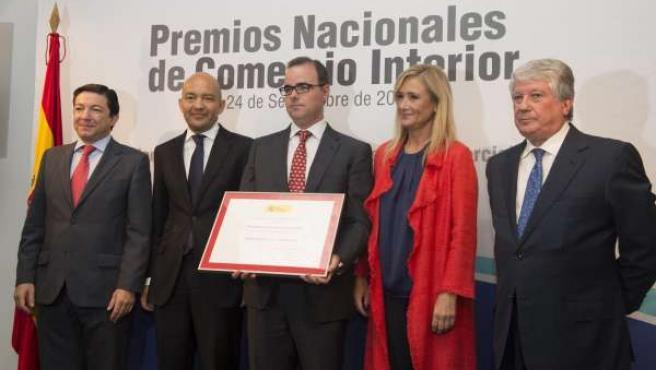 Entrega De Premios Nacionales De Comercio Interior