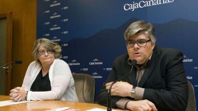 Rueda de prensa de Natalia Arnárez y Álvaro Marcos