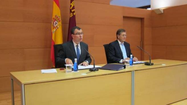 José Ballesta y Juan Bernal en rueda de prensa