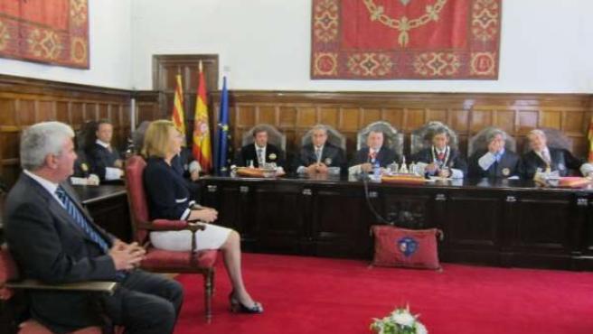Acto solemne de apertura del Año Judicial 2012-2013.