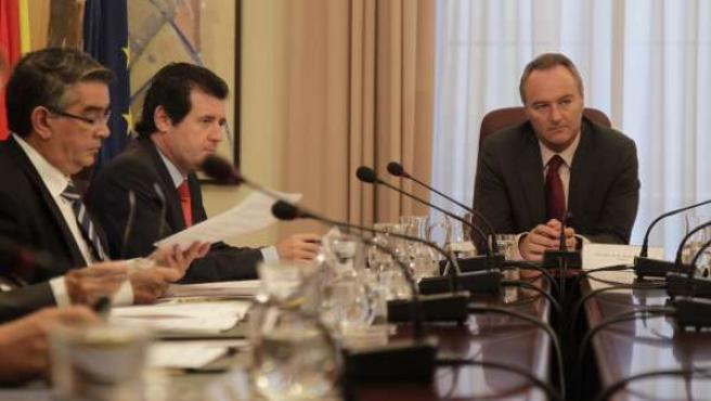 Pleno Del Consell Presidido Por Fabra