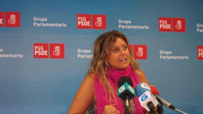 Beatriz Sestayo En Rueda De Prensa