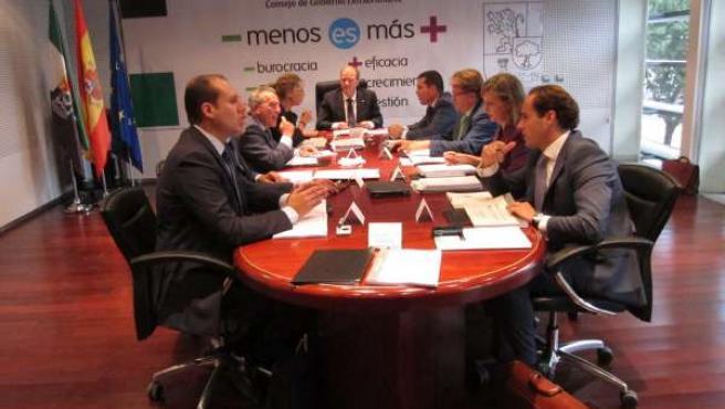 Consejo Extraordinario Del Gobex En Cáceres