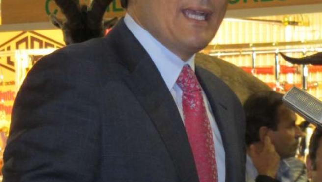 Nieto, durante su intervención en Intercaza