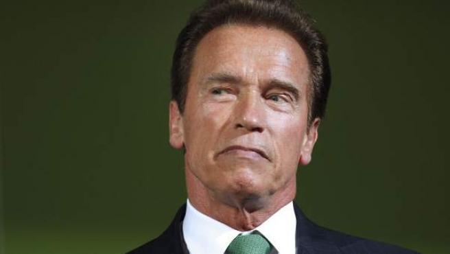 Arnold Schwarzenegger, durante su estancia en el Foro de Energía de Viena.