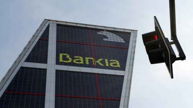 La sede de Bankia, en Madrid.