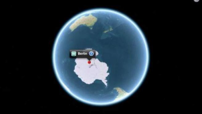 Una imagen de Apple Maps.