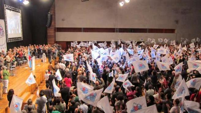 Convención Nacional Del BNG En Santiago De Compostela