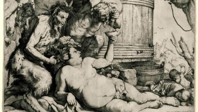 Grabado de José de Ribera (1591 – 1652)