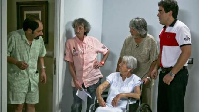 Una escena de la sexta temporada de 'La que se avecina'.
