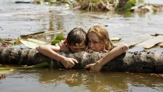 Escena de la película de Bayona 'Lo imposible'.