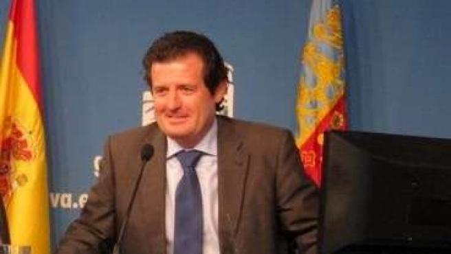 El Vicepresidente Del Consell, José Císcar