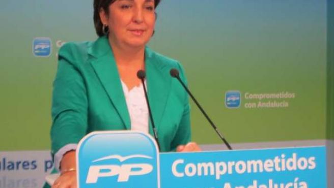 La Vicesecretaria De Organización Del PP-A, Ana María Corredera, Hoy En Sevilla