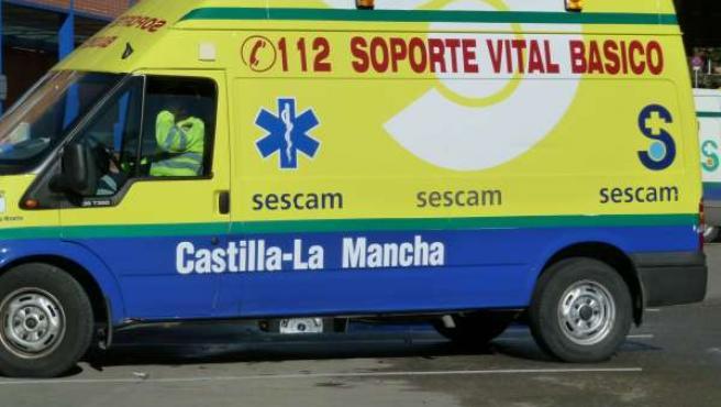 Ambulancia Sescam