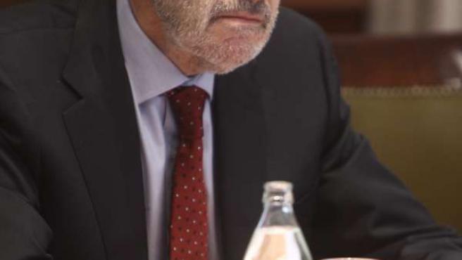 Reunión de Alfredo Pérez Rubalcaba