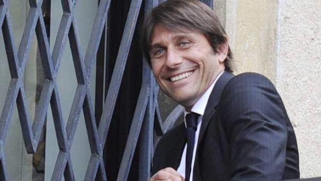 Antonio Conte, entrenador de la Juventus de Turín.