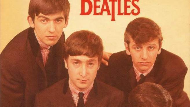 Carátula de 'Love me do', de The Beatles.