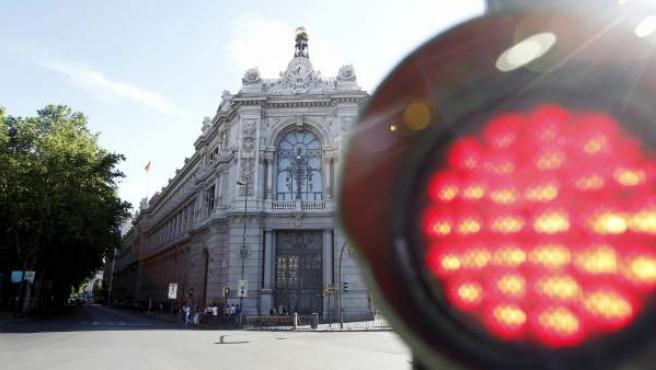 Imagen de la sede del Banco de España.