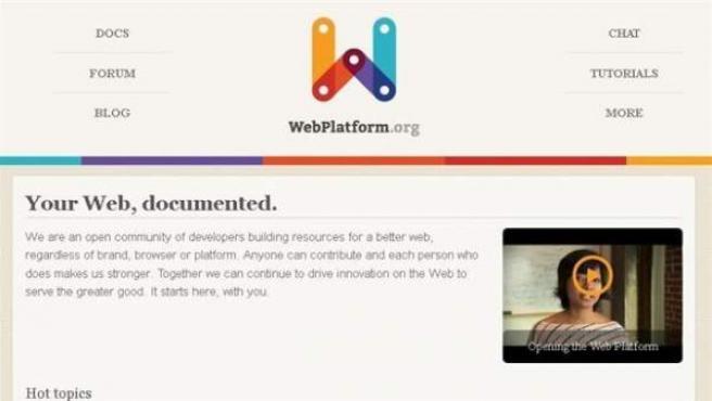 Las grandes tecnológicas se han unido en la Web Platform.