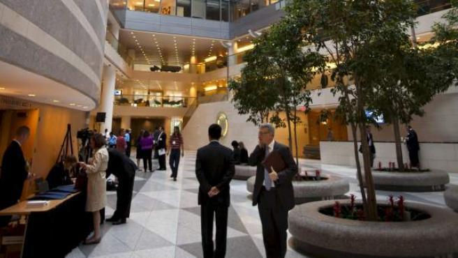 Sede del Fondo Monetario Internacional.