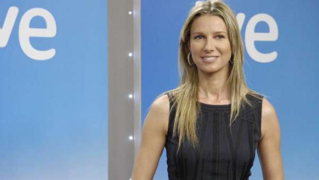 La presentadora Anne Igartiburu.