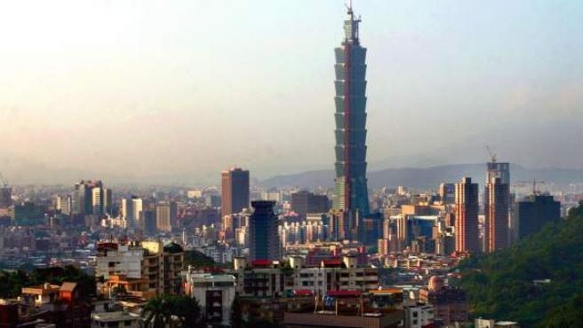 Una imagen de Taipei, capital de Taiwán.